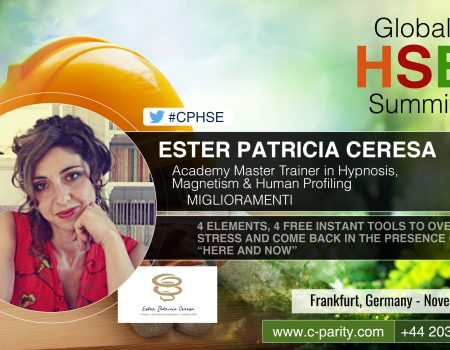 HSE Global Summit- Ester Patricia Ceresa Speaker